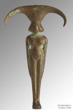 """""""Del simbolismo del espejo en el Egipto Antiguo"""" MET.MM.00936.01-ZL"""